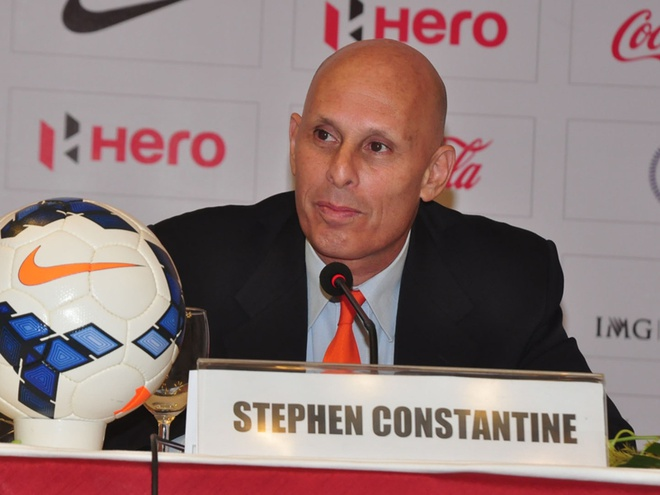 Stephen Constantine,  HLV Henrique Calisto,  HLV An Do,  Asian Cup anh 2