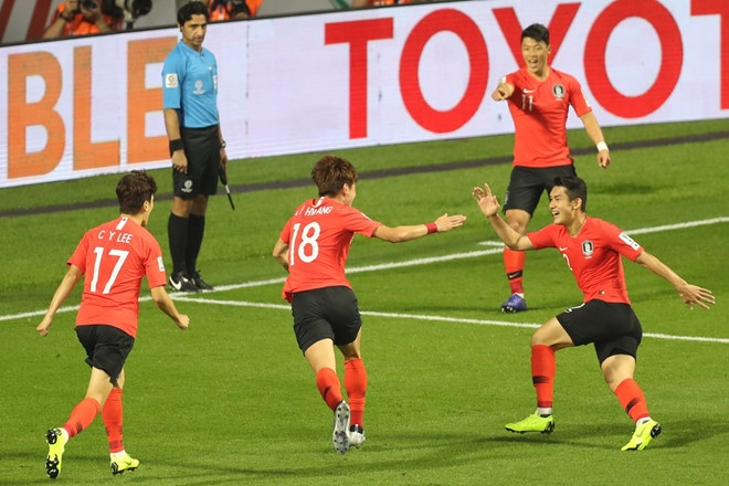 Doi tuyen Han Quoc,  Asian Cup 2019,  Son Heung-min,  Han Quoc vs Philippines anh 1