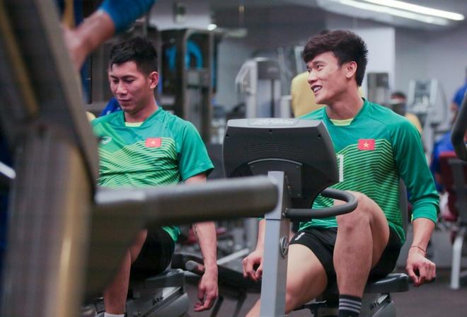 Tuyen Viet Nam hang say tap gym truoc tran gap Yemen hinh anh