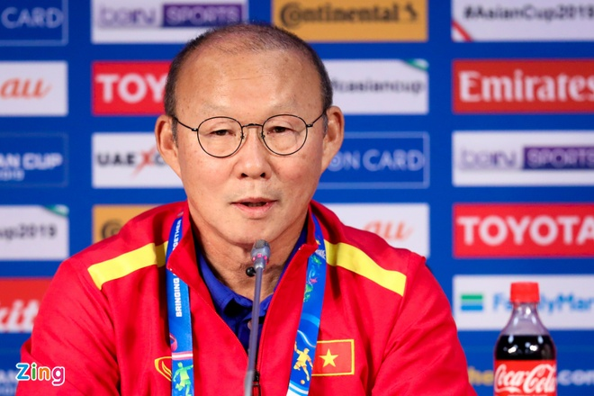 HLV Park Hang-seo tin tuyen Viet Nam se di tiep tai Asian Cup 2019 hinh anh 1