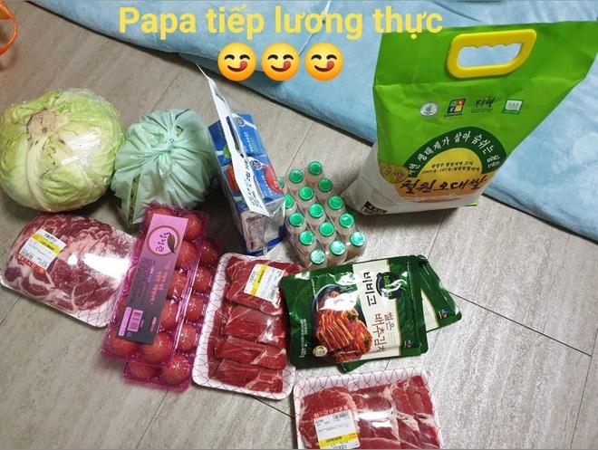 HLV Park Hang-seo 'tiep te' luong thuc cho Dinh Trong o Han Quoc hinh anh 1