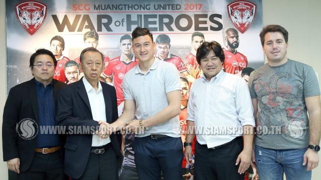 Dang Van Lam,  doi tuyen Viet Nam,  ThaiLeague,  Muangthong United anh 2