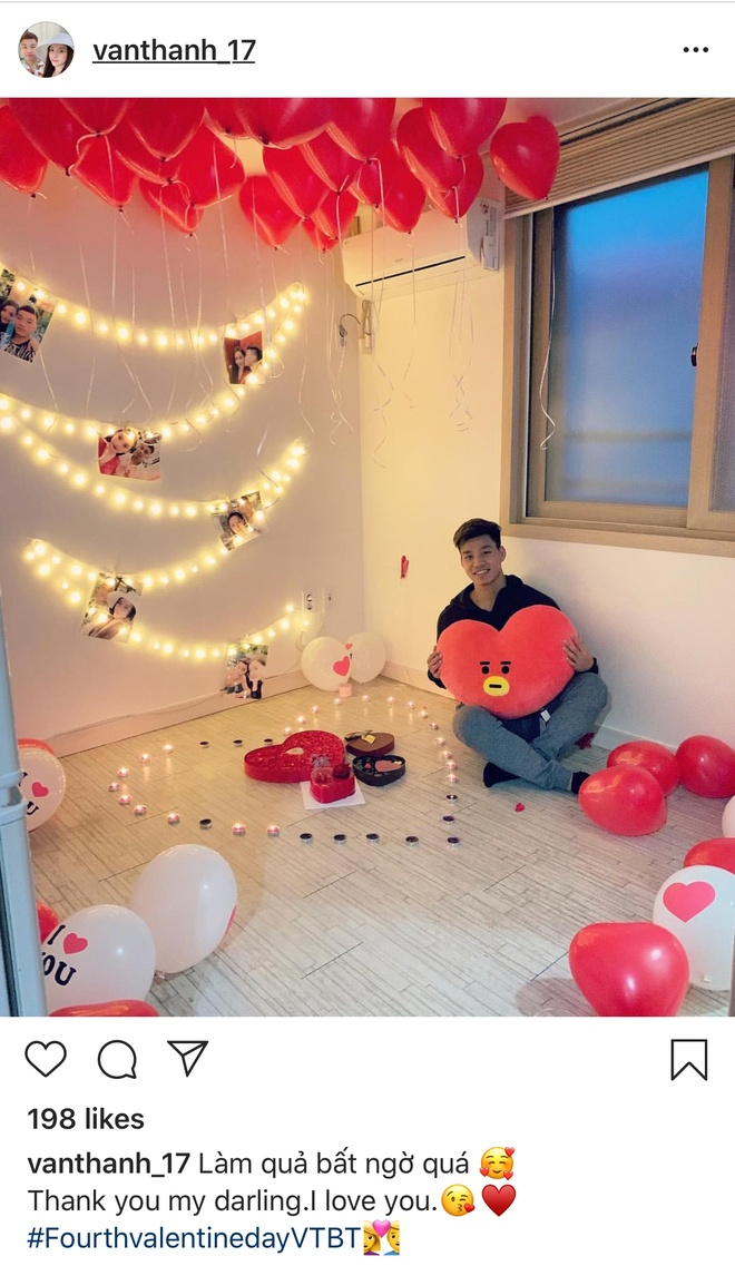 Van Thanh, Dinh Trong don ngay Valentine theo cach trai nguoc hinh anh 1