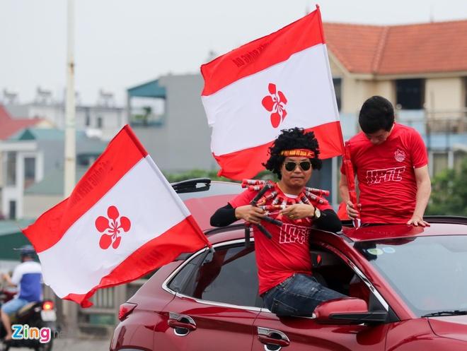 CDV Hai Phong xinh dep tiep lua doi nha truoc tran doi dau CLB Ha Noi hinh anh 4