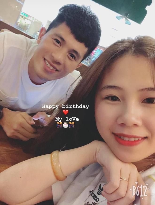 Bạn gái gửi lời chúc sinh nhật cho Đình Trọng từ nửa đêm