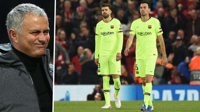 Jose Mourinho: 'Barcelona da nhu tre con mo ngu' hinh anh 1