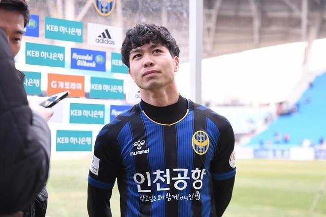 Cong Phuong,  viet thu tay,  sut vo kinh CDV,  Incheon United,  doi tuyen Viet Nam anh 1