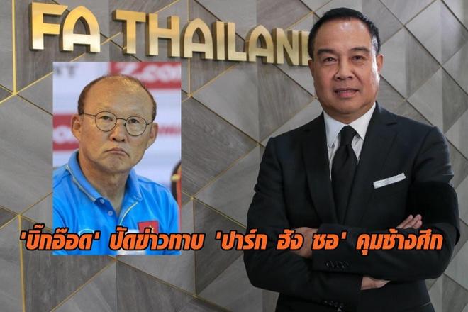 Lien doan Bong da Thai Lan,  Somyot Poompanmoung,  Chu tich LDBD Thai Lan,  Park Hang-seo,  doi tuyen Viet Nam anh 1