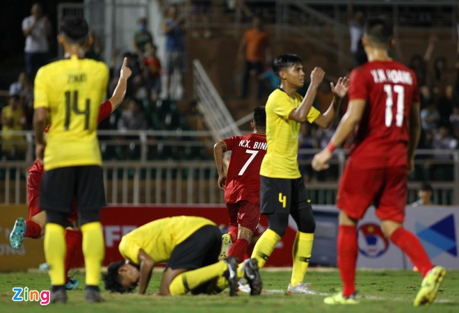 xem lại U18 Việt Nam vs U18 Malaysia