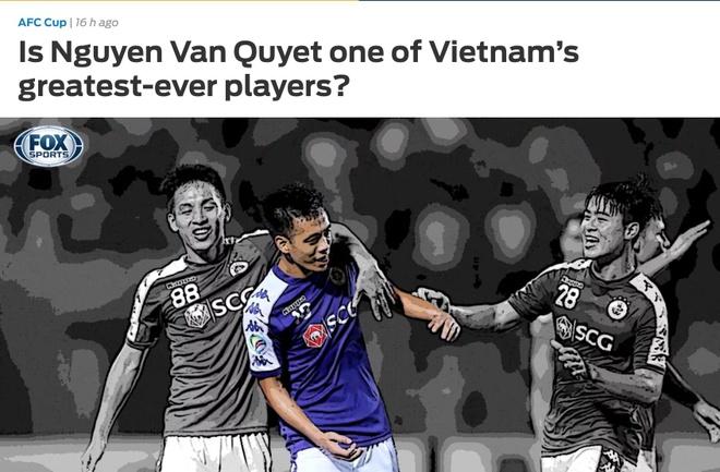 Bao chau A goi Van Quyet la cau thu Viet Nam hay nhat moi thoi dai hinh anh 1