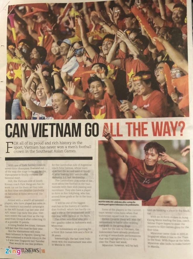 Bao Philippines: 'SEA Games 30 se la thoi cua U22 Viet Nam' hinh anh 1