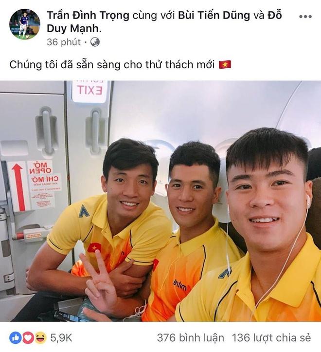 Dan cau thu U23 VN dong loat dang anh truoc khi tham du ASIAD 2018 hinh anh 7