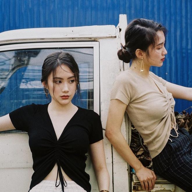 Hot girl Lao goc Viet bat ngo dang anh dao choi pho di bo Ha Noi hinh anh 9