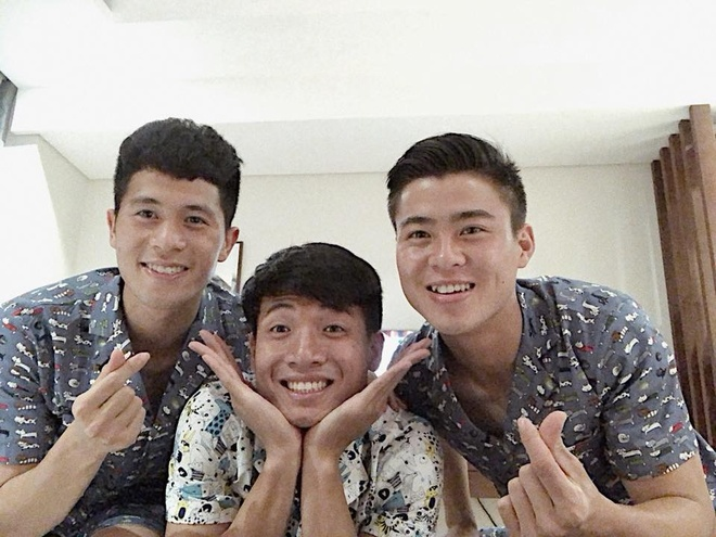 Bo ba hau ve Olympic Viet Nam 'don tim' fan voi loat anh dang yeu hinh anh 5