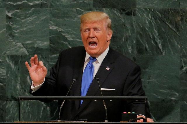 TT Trump de doa Trieu Tien va Iran tai Lien Hop Quoc hinh anh