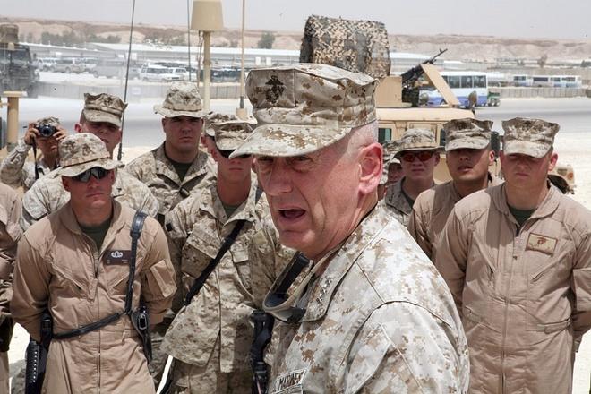 Bo truong Mattis toi, Taliban na ten lua vao san bay Kabul hinh anh