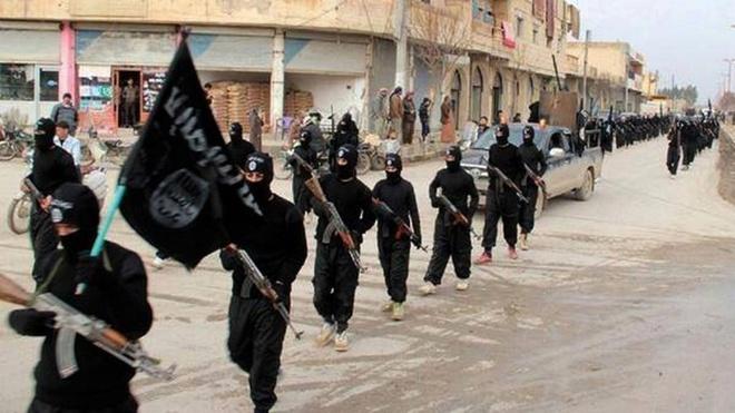 Chien binh IS sat hai gan 60 linh Syria hinh anh