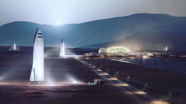 Elon Musk tham vong dua nguoi len sao Hoa vao nam 2024 hinh anh