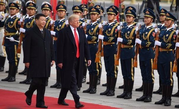Trung Quoc don Trump bang nghi le dac biet nhat trong gan 70 nam hinh anh