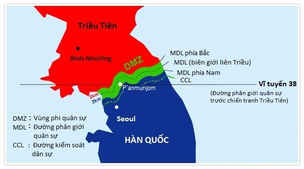Han Quoc bat cong dan My dinh vuot bien sang Trieu Tien hinh anh 2