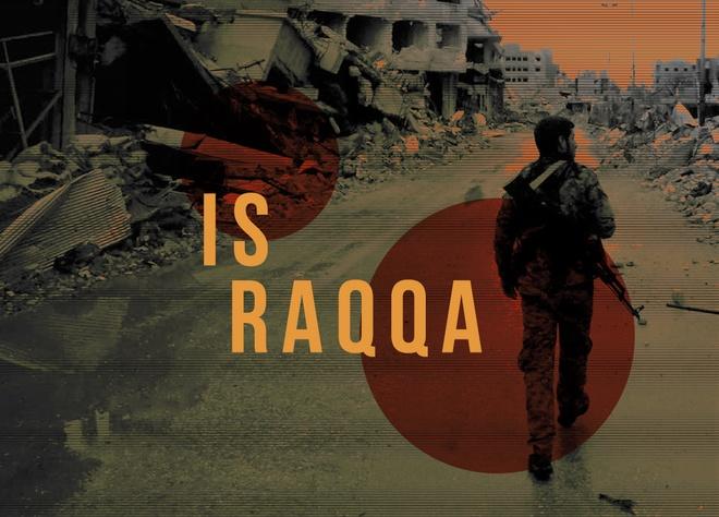 Doan xe dai 7 km giup IS mo duong mau roi sao huyet Raqqa hinh anh