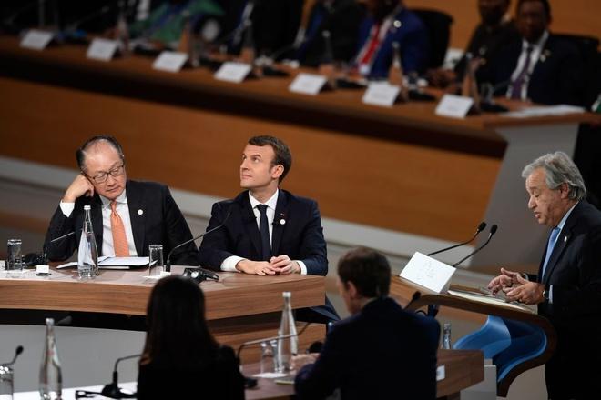 Hoi nghi ve bien doi khi hau o Paris: Tat ca la ve Trump hinh anh 1