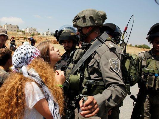Thieu nu Palestine bi bat vi tat hai binh si Israel hinh anh 1