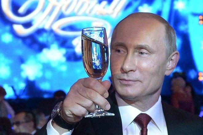 Dem giao thua cua TT Putin, Chu tich Tap va lanh dao the gioi hinh anh
