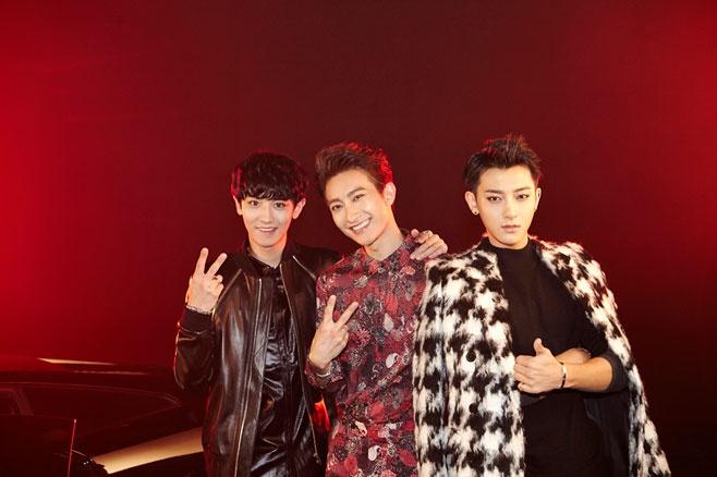 EXO ho tro dan anh Super Junior-M hinh anh 1 Tao.