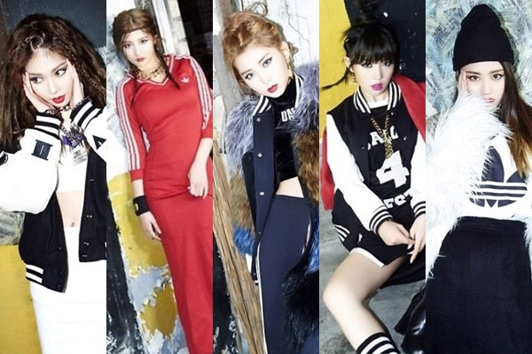 4minute noi loan trong MV 'Crazy' hinh anh
