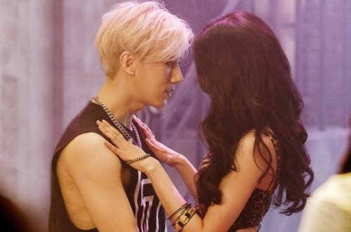 Hyunseung (BEAST) 'tron' HyunA danh le hinh anh