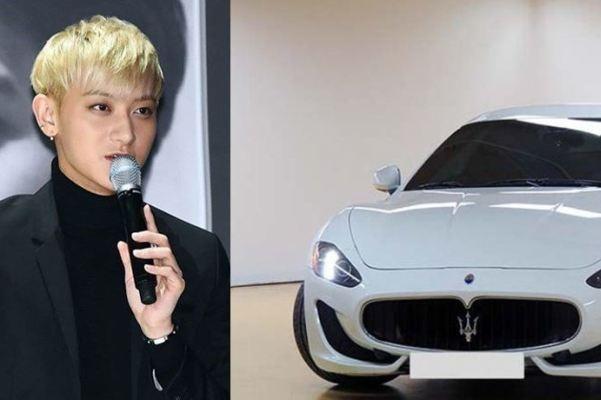 Tao (EXO) sang My, rao ban sieu xe o Han hinh anh
