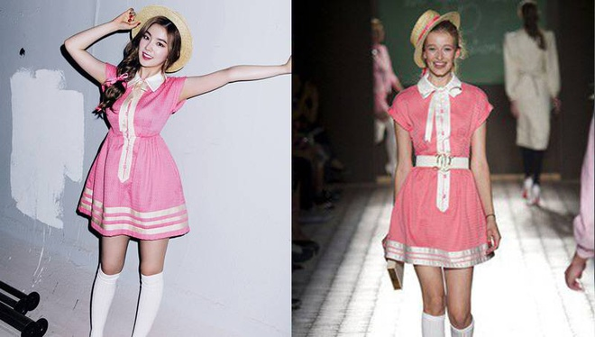 Red Velvet chat vat vi nghi an dao vay ao hinh anh 2 Trang phục