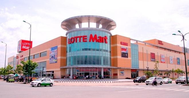 Lo 800 ty tai Viet Nam, Lotte Mart noi do dang mo nhieu dai sieu thi hinh anh