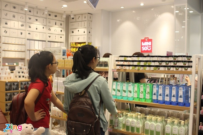 Miniso chinh thuc ve tay nguoi Trung Quoc hinh anh