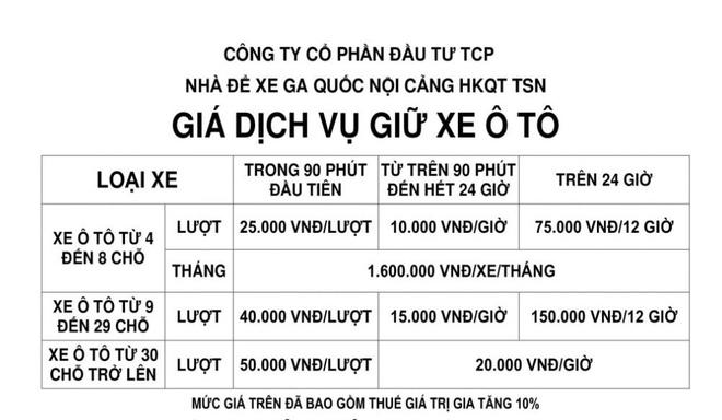Tang gia giu xe tai san bay Tan Son Nhat anh 2