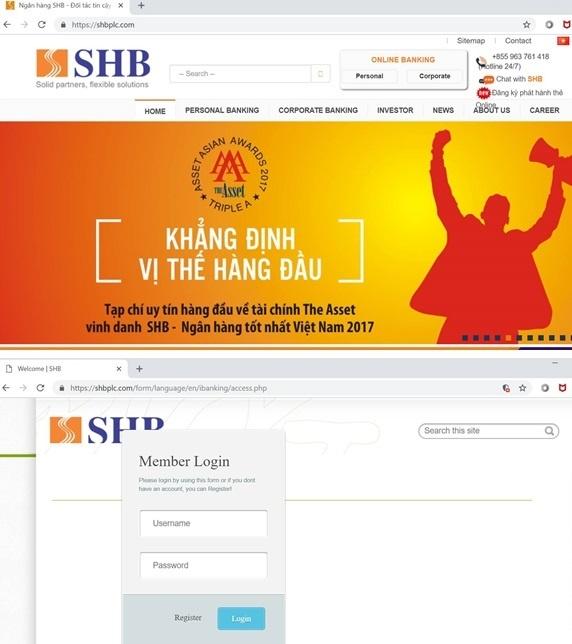 Gia mao website ngan hang, bia chuyen chia tai san de lua dao hinh anh 1