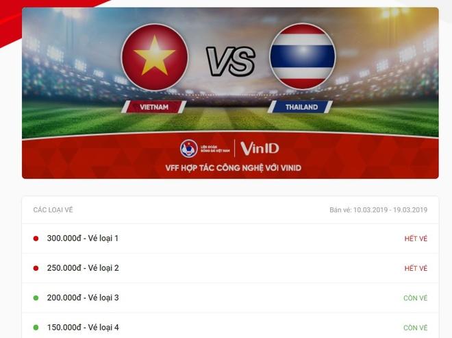 Ve xem tran U23 Viet Nam - Thai Lan chay hang khi vua mo ban hinh anh 1