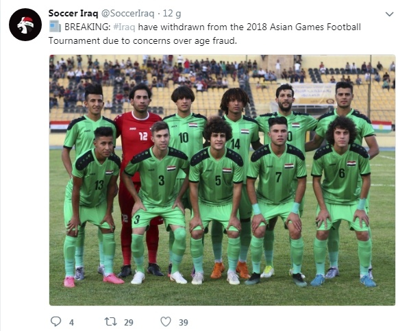 ASIAD 2018,  Olympic Iraq,  Indonesia anh 2