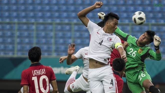 Danh bai Lao, Olympic Hong Kong tao ap luc cho chu nha Indonesia hinh anh