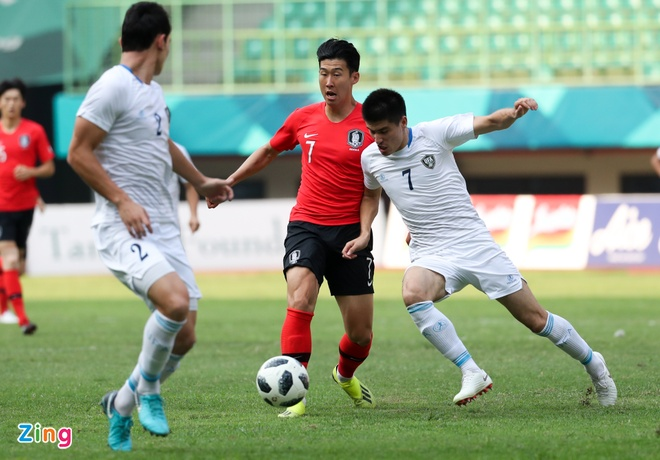 ASIAD 18,  Olympic Han Quoc,  HLV Park Hang-seo anh 2