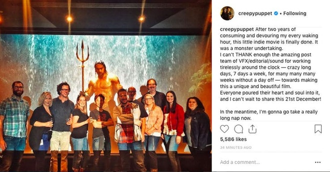 Cuoi cung thi 'Aquaman' cung duoc hoan tat hinh anh 1