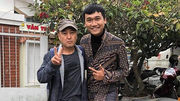 Sao Han 'Giay thuy tinh' to doan lam phim Viet quyt tien cat xe hinh anh 3