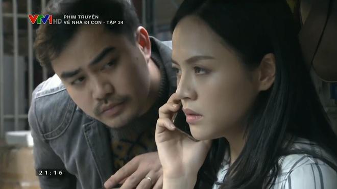 'Ve nha di con': Ong Son khuyen Hue doan tu voi nguoi chong bao luc hinh anh