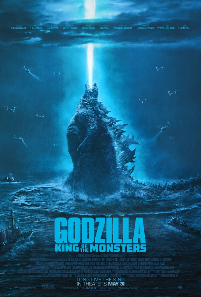 'Godzilla: King of the Monsters' va nhung bo phim co poster phi logic hinh anh 1