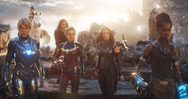 Avengers phien ban nu anh 1