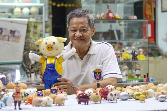 Bo linh vat xuan Ky Hoi doc dao bang vo trung cua thay giao Sai Gon hinh anh