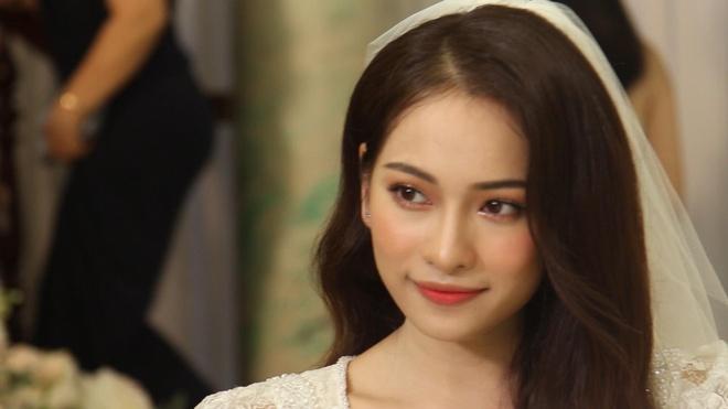 Sara Luu xinh dep rang ro trong le cuoi nhac si Duong Khac Linh hinh anh