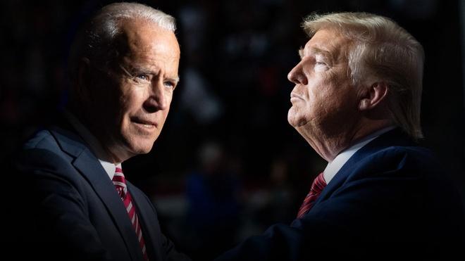 Trump - Biden buoc vao buoi 'so gang' dau tien anh 32