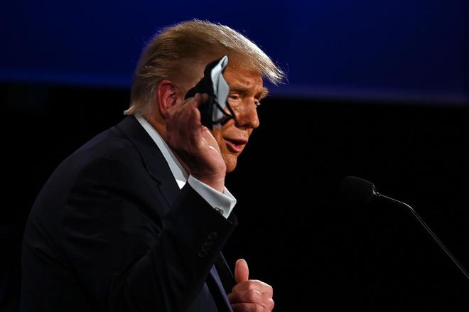 Trump - Biden buoc vao buoi 'so gang' dau tien anh 14
